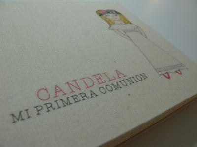 Álbum Primera Comunión pintado a mano