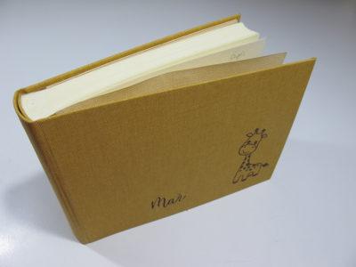 Álbum infantil encuadernación artesanal