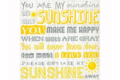 Servilleta Sunshine