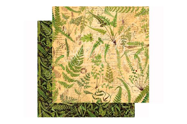 Papel scrap Verdant woolands