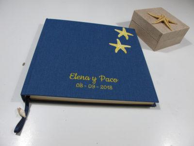 Libro firmas boda