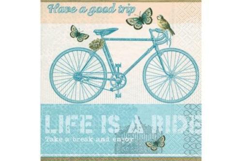 Servilleta bicicleta