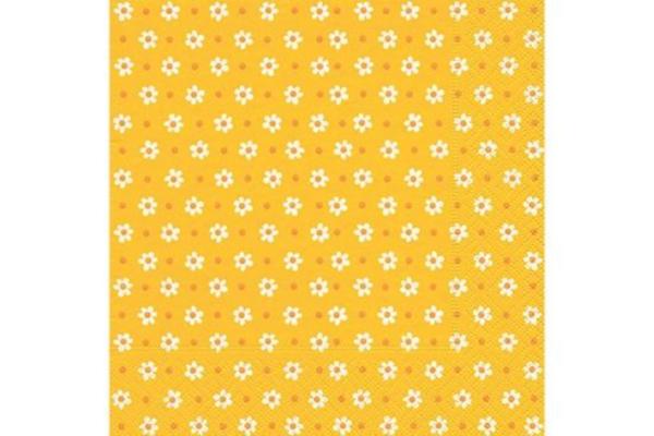 Servilleta Flores Naranjas