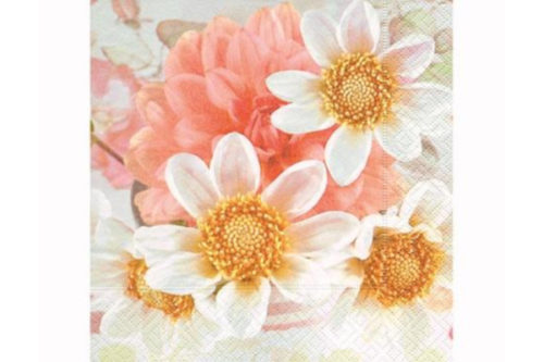 Servilleta Flores suaves
