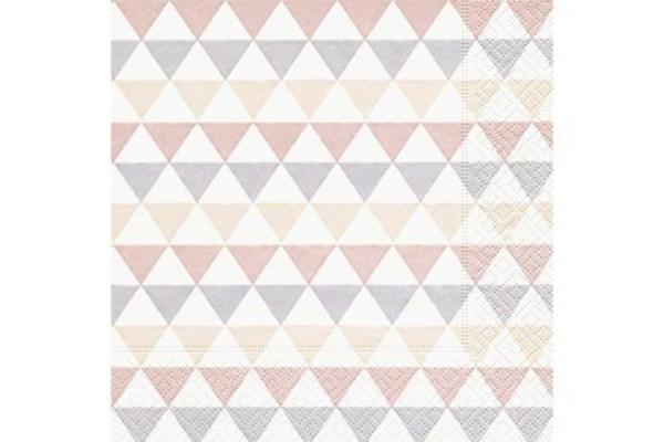 Servilleta Triángulos Pastel
