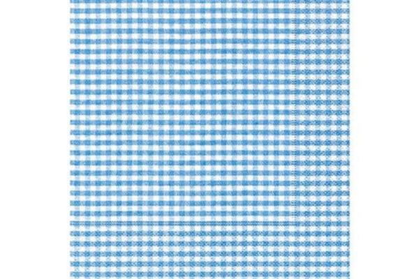 Servilleta Vichy Azul
